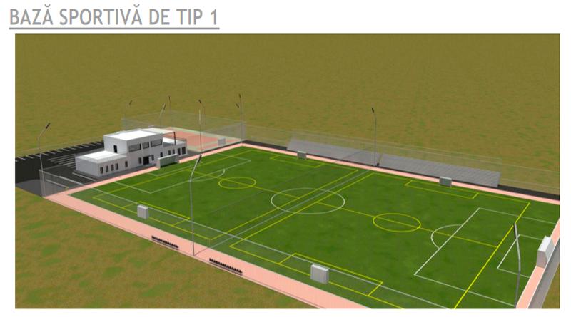 Începând de anul viitor, Râmnicul va avea o nouă bază sportivă, pe islazul de la Goranu