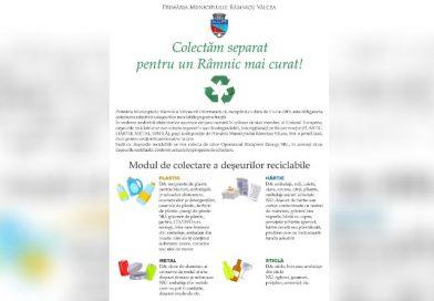 Începe distribuirea sacilor pentru colectarea separată a deşeurilor reciclabile din hârtie, plastic, sticlă şi metal