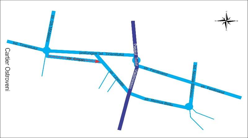 Modificări în traficul auto din municipiu