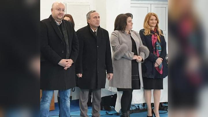 "INAUGURARE. Teren de sport la Școala ""Nicolae Bălcescu"""