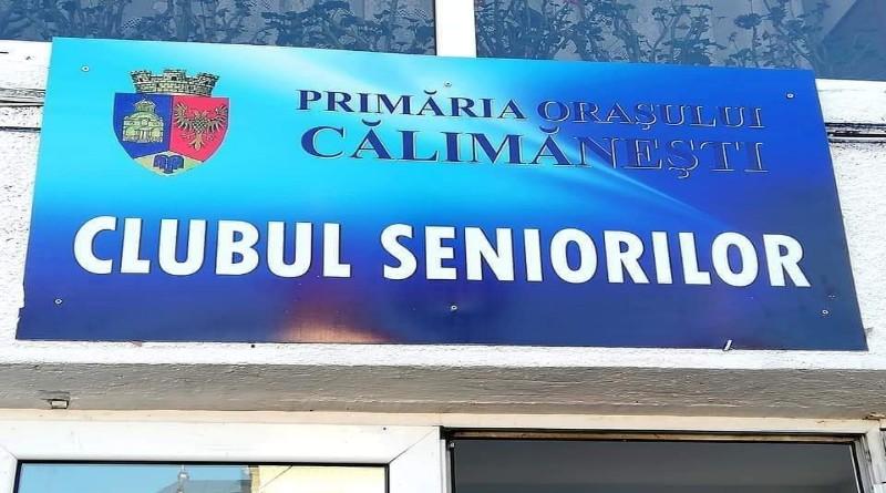 Program de funcționare la Clubul Seniorilor din Călimăneşti